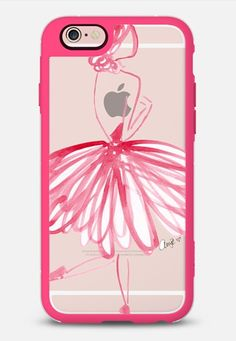 Raw Pink Ballerina by The XO Studio in New Standard | @casetify