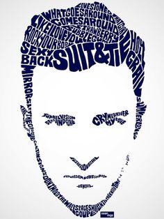 Justin Timberlake Typography