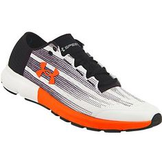 Under Armour Speedform Velociti Running Shoes - Mens White Black Red