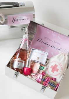 Will You Be My Bridesmaid? Lunch Box by Jen Carreiro