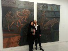 Με τον Simon Pasieka στο Μουσείο Φρυσίρα