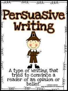 "Are you looking for something for Thanksgiving other than ""What are you thankful for?"" This persuasive pack gives a fun twist to persuasive writing during the holidays!!!!$"