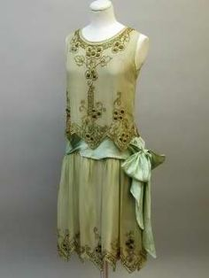 Handkerchief skirt- asymmetric hems, ca.1920s.  Nevada State Museum's Marjorie Russell Clothing & Textile Research Center