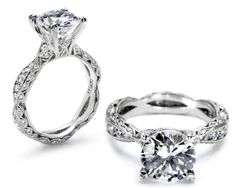 Tacori 2578RD Diamond Engagement Ring  Would wear every day