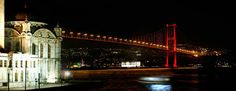 Bosphorus Bridge, Istanbul, Turkey - Most Incredible and Famous Bridges in the World Istanbul Tours, Istanbul Hotels, Istanbul Travel, Istanbul Turkey, Istanbul City, Bosphorus Bridge, Famous Bridges, Europe Continent, European Destination