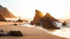 Praia da Adraga, Sintra, Portugal is in the Sintra Cascais Natural Park. @Anna Totten J
