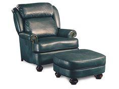 Leathercraft Furniture Living Room Easeback Chair 052 - The Village Shoppe - Yakima, WA