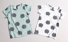 bear faces slub tee for unisex kids fashion at colormewhimsy 10