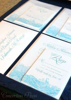 aquarium wedding invitations - Google Search