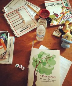 A Plan in Place Homeschool Planners for Multiple Ages