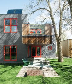 Green and Affordable Living in Montana A resourceful sound mixer sources some local design talent, rolls up his sleeves, and builds small, green, and affordable in Bozeman, Montana. Photo by: John Clark