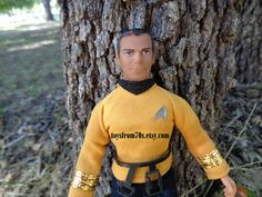 Vintage Star Trek Captain James T. Kirk  Action by toysfrom70s