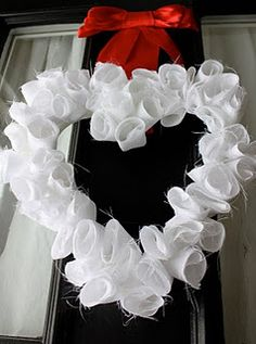 Pretty and easy door wreath