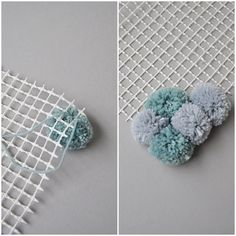 DIY: Just make your own velvet carpet from PomPoms! - Smilla& feeling of wellbeing - Make DIY carpet out of pompons yourself Best Picture For hot glue gun crafts For Your Taste You a - Diy Pom Pom Rug, Pom Pom Crafts, Yarn Crafts, Diy Carpet, Cheap Carpet, Sisal Carpet, Hotel Carpet, Black Carpet, Craft Ideas