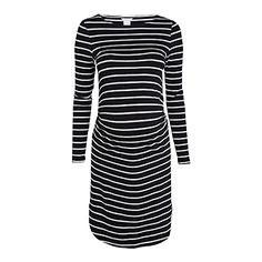 MOM Žerzejové šaty Černá