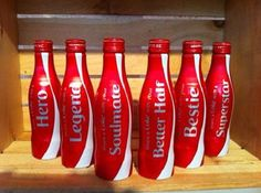 Coca Cola Share A Coke  USA 2015 6 Pack Bottles - US ships from WA #CocaCola