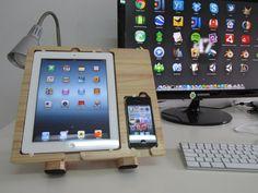 iPad / iPhone Dock by LaCucharaDePalo on Etsy, €61.00