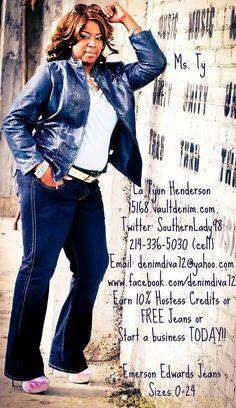Contact me Today!!! Book your party or shop online! 15168.vaultdenim.com