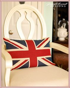 Union Jack pillow :-)