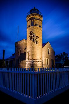 Mackinac Point Lighthouse - Michigan | by blainecourts