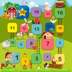 Find Board Game Farm Animals stock images in HD and millions of other royalty-free stock photos, illustrations and vectors in the Shutterstock collection. Thousands of new, high-quality pictures added every day. Free Board Games, Preschool Board Games, Math Board Games, Printable Board Games, Board Games For Kids, Farm Animals Games, Animal Games, English Games For Kids, Board Game Template