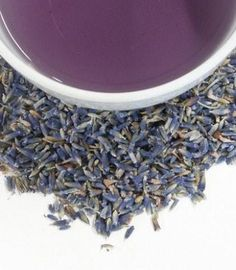 French Super Blue Lavender is a traditional herbal tea sourced from the perfume capital of the French Riviera #Tea #Harney