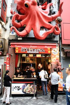 OSAKA'S TOP 3 MUST-EAT STREET FOOD