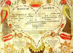 Fraktur (Pennsylvania German folk art) I will be learning this hand from Thomas Hoyer July 2014.