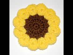 Bring The Joy Of Sunflowers To Your Next Dinner Party With These Cute Coasters! - Starting Chain