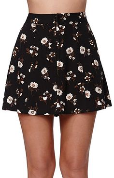 Kendall and Kylie High Rise A-Line Skirt at PacSun.com