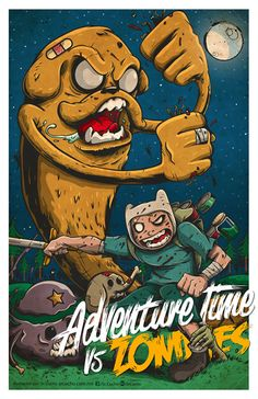 Adventure Time vs Zombies
