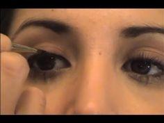 Como delinear el ojo - How to use eyeliner