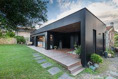 Extension Designs, Home Id, Exterior Design, Garage Doors, Sweet Home, New Homes, Home And Garden, Loft, Construction
