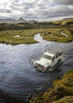 Lakagigar Iceland - River Crossing