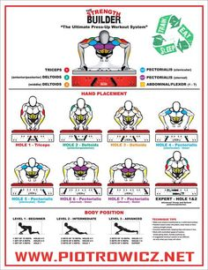 The Ultimate Press-Up Workout - Healthy Fitness Workouts Chest A