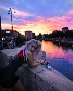 Milan Navigli, Beautiful Sunset, Drinks, Photography, Instagram, Fashion, Drinking, Moda, Fotografie