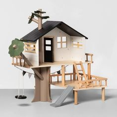 Wooden Toy Treehouse - Hearth & Hand™ With Magnolia : Target Tree House Plans, Preschool Gifts, Tree House Designs, Toy House, Wood Toys, Hearth, Entryway Decor, Magnolia, Diy Home Decor
