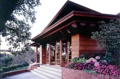 Hanna-Honeycomb House, Stanford University CA   Frank Lloyd Wright   Architectural Resources Group