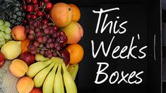 Aussie Farmers Direct #Fruit & #Veg boxes provide great value for money and a superb selection of what's in season. Shop #online and view what's included in this week's #delivery.