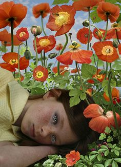 Ruud van Empel, Dawn 2008 Artwork - 31764 Signed, titled, dated, and editioned on artist label verso 33 x 23 inch archival pigment print Edition of 13 + 2 AP Art Et Illustration, Illustrations, Photomontage, Blog Art, Ouvrages D'art, Foto Art, Dutch Artists, Art Photography, Artistic Photography