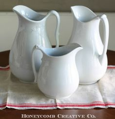 Honeycomb Creative Co.: Latest Vintage Finds: Ironstone, Estate Sale Scores and More