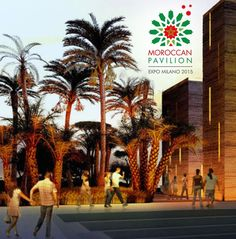 Expo 2015 Milano Blog: Morrocan pavilion... already a STAR in the local p...