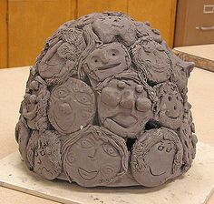 Clay Projects For Elementary Kids | WOW! Gorillas! at the Bristol Children's Hospital