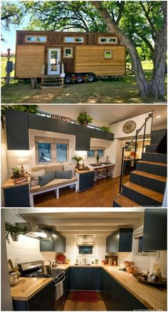 Are you dreaming of building or buying your very own tiny house or just wonder what the whole tiny living movement is about? Then try out micro living by bookin homes Try out tiny house living in these 18 beautiful holiday homes Tiny House Layout, Tiny House Design, House Layouts, Building A Tiny House, Tiny House Plans, Tiny House On Wheels, Tiny House On Trailer, Tiny House Company, Tiny House Listings