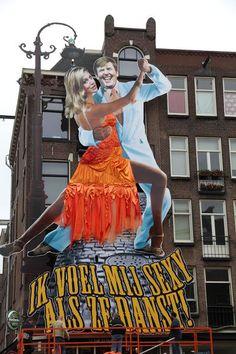 Koningsdag 2015, Café De Blaffende Vis, Amsterdam. ZONDER HOEDJE.