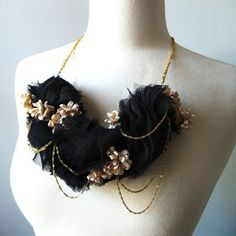 PrismeraDesign_elodie Textile Jewelry by PD Couture Collection