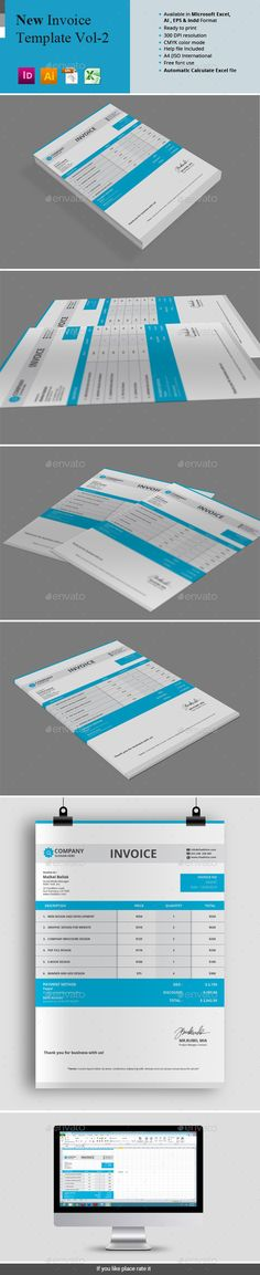 Business Invoice Templates v3 Template, Business and Buy business - invoice spreadsheet template free