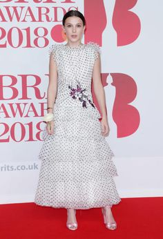Millie Bobby Brown, Brit Awards - Fashion hits and misses for February 2018