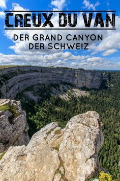 The Creux du Van is one of those incredibly fascinating destinations in Switzerland, which leave you amazed at the sight. No wonder that the spectacular Creux du Van is also known as the Grand Canyon of Switzerland. Europe Destinations, Europe Travel Tips, Travel Goals, Places In Switzerland, Switzerland Vacation, Vacations To Go, Reisen In Europa, Culture Travel, Camping
