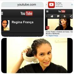 Bom dia!!! Divas tenho um canal no youtube com dicas de beleza, penteados, make!!! Não esquece de passar la !!!! Canal Regina França!!!